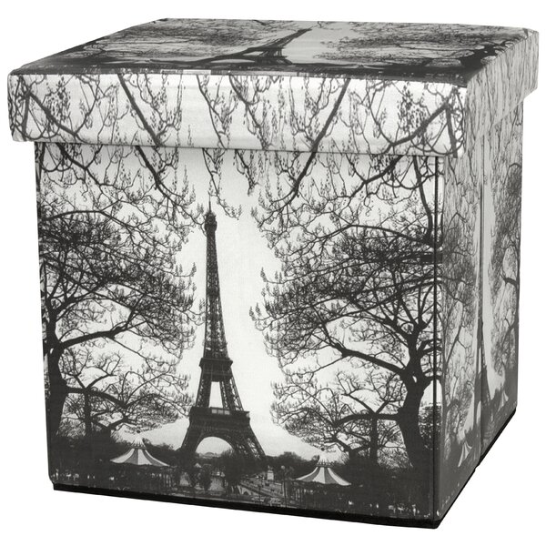 Boes Eiffel Tower Storage Ottoman by Fleur De Lis Living