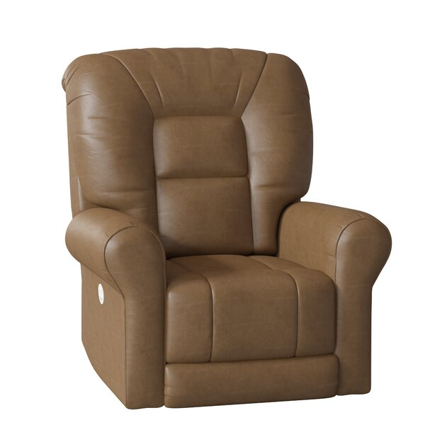 Grand Slam Leather Power Lift Assist Recliner by Southern Motion Southern Motion
