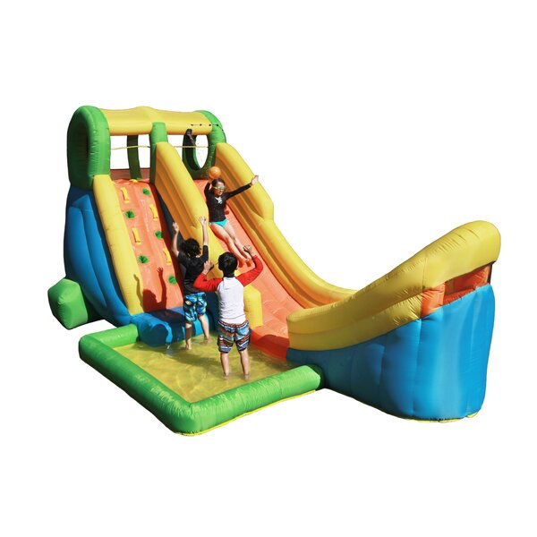 Inflatable Half Pipe Water Slide By Sportspower.