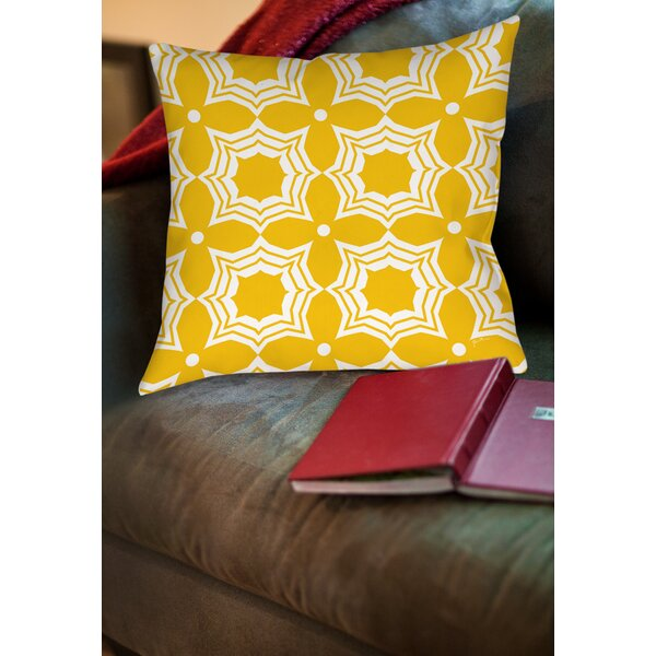 Samsel Printed Throw Pillow by Latitude Run