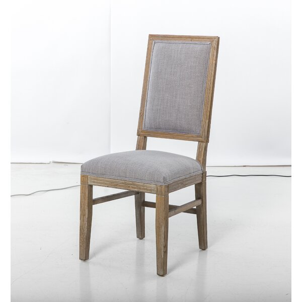 Xander Upholstered Dining Chair (Set of 2) by One Allium Way