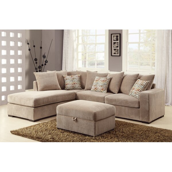 Best #1 Albin Reversible Sectional By Loon Peak Amazing