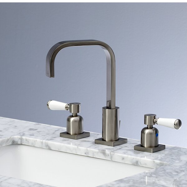 Paris Widespread Bathroom Faucet with Drain Assembly by Kingston Brass Kingston Brass