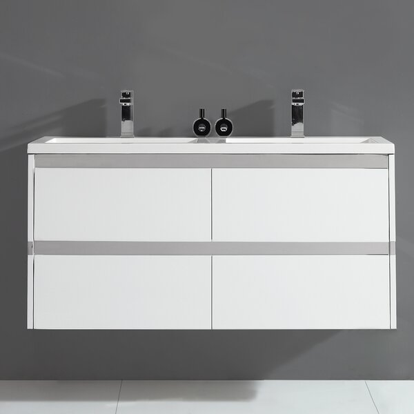Durante 48 Double Bathroom Vanity Set by Ove Decors