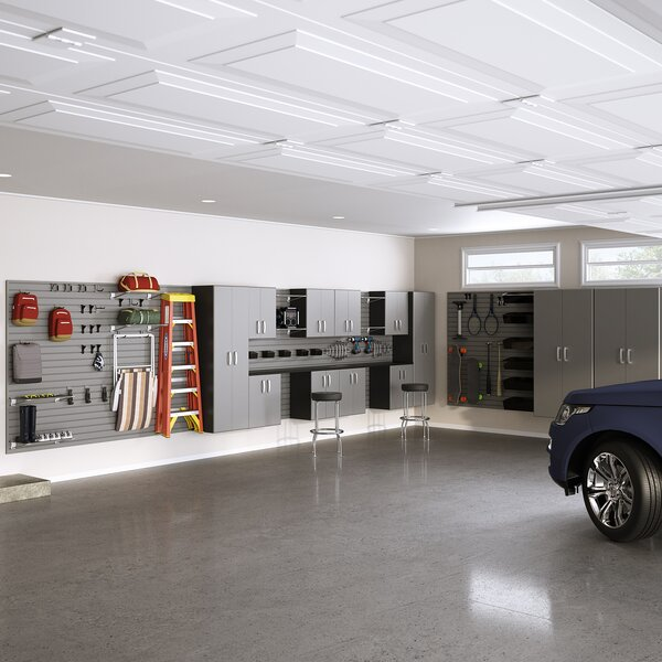 Dream Garage Deluxe Storage Cabinet Set by Flow Wall