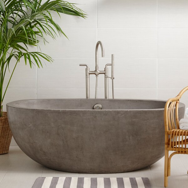 Avalon Freestanding Soaking Bathtub by Native Trails, Inc.