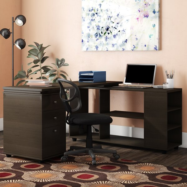 Toby L-Shape Executive Desk by Latitude Run