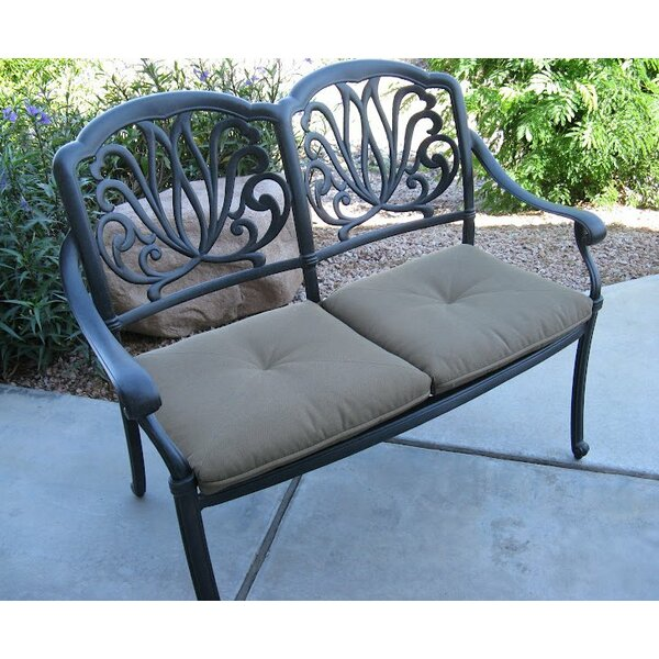 Kristy Aluminum Garden Bench by Darby Home Co
