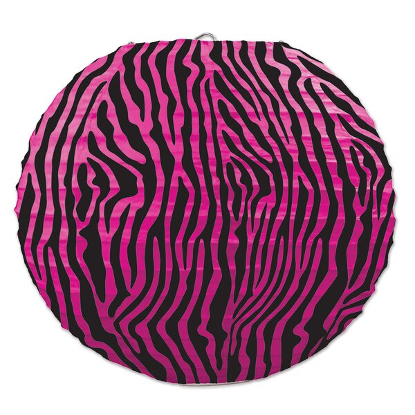 Zebra Paper Lantern Lamp (Set of 6) by The Holiday Aisle
