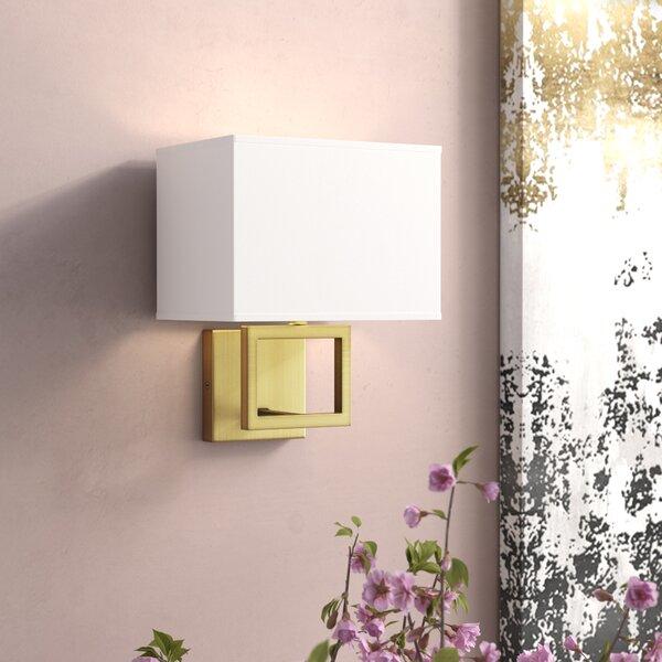 Boykin 1-Light Flush Mount by Willa Arlo Interiors
