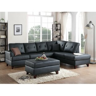 Superieur Leather Sectional Sofas Youu0027ll Love | Wayfair