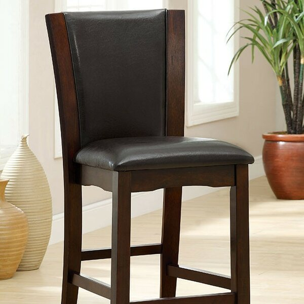 Overcash Counter Height Upholstered Dining Chair (Set of 2) by Latitude Run