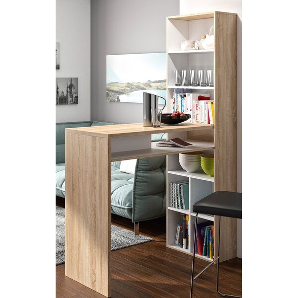 Delvale Desk with Hutch by Latitude Run