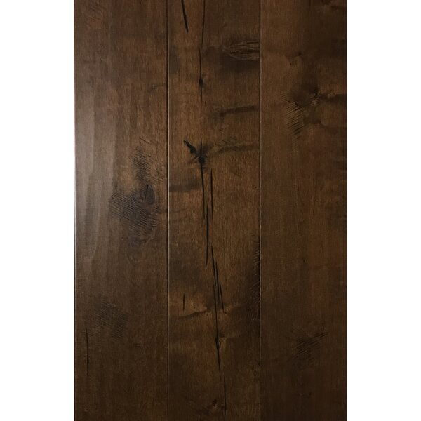 7.5 Engineered Maple Hardwood Flooring in Jungle Night by Floressence Surfaces