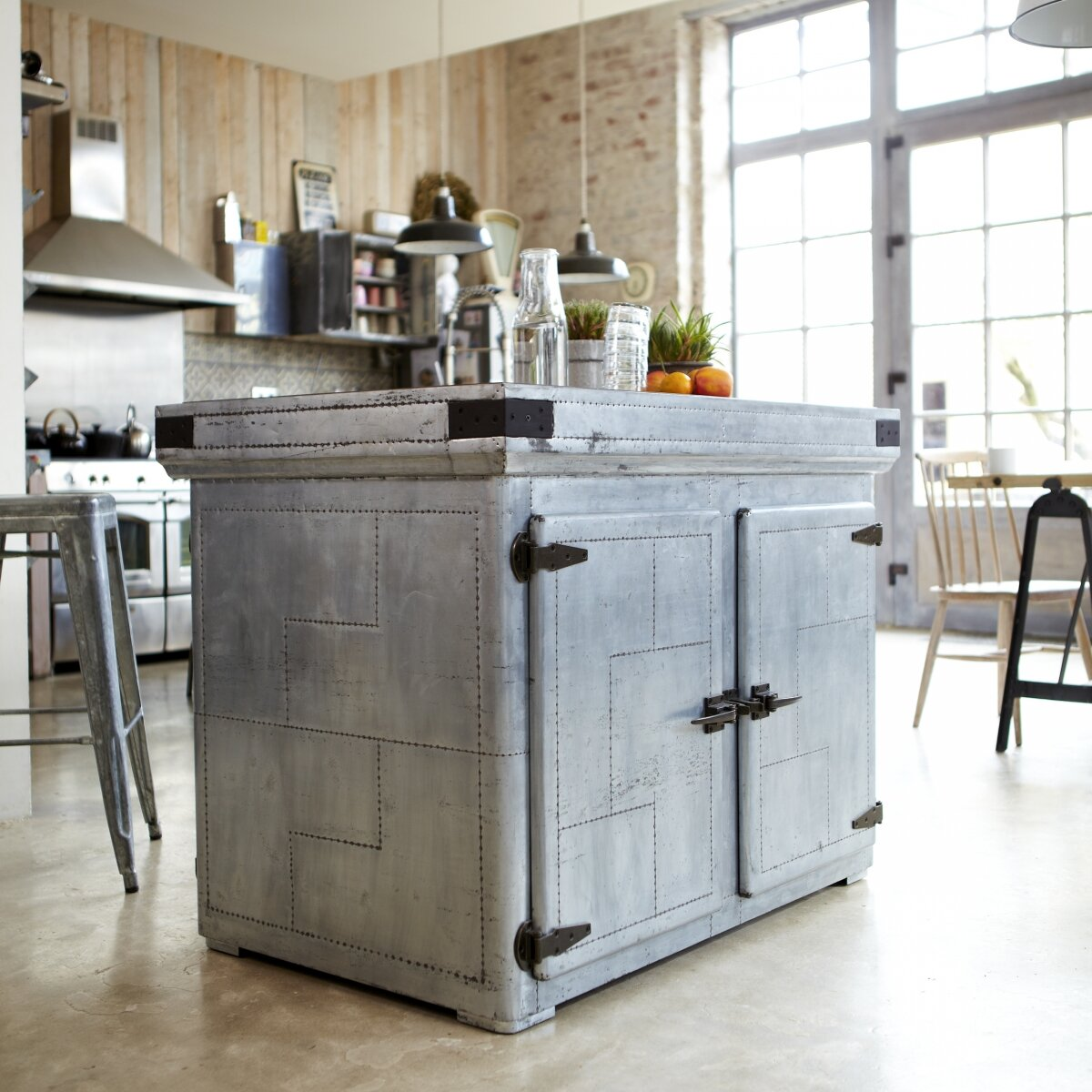 Tikamoon Kücheninsel Toby | Wayfair.de