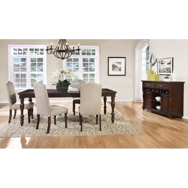 Faunce 5 Piece Solid Wood Dining Set by Beachcrest Home