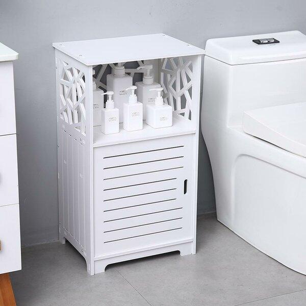 Sutliff 16 W x 28 H x 12 D Free-Standing Bathroom Cabinet