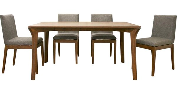 Pericles 5 Piece Dining Set by Union Rustic