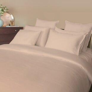Balderas 540 Thread Count Solid Color 100% Cotton Sateen Sheet Set ByDarby Home Co