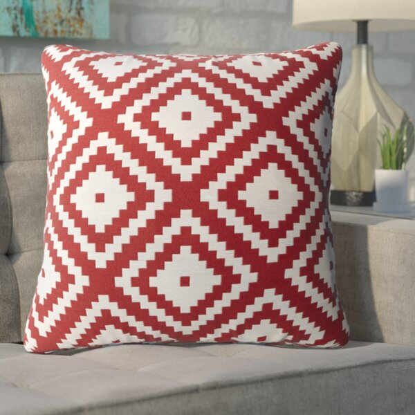 Asencio Zig Throw Pillow by Mercury Row