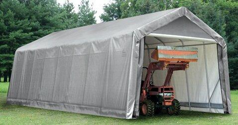 Peak Standard 15 Ft. x 28 Ft. Garage by ShelterLog