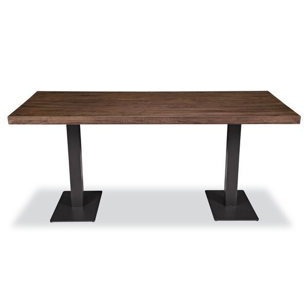 Pelletier Solid Wood Dining Table by Williston Forge