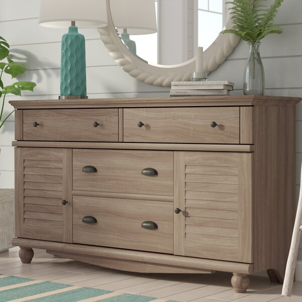 Pinellas 4 Drawer Combo Dresser by Beachcrest Home