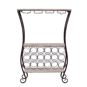 Andria 18 Bottle Floor Wine Rack by Wildon Home ®