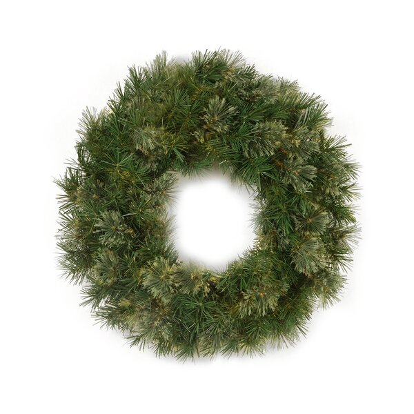 Mixed Cashmere Pine Christmas Wreath by The Holiday Aisle
