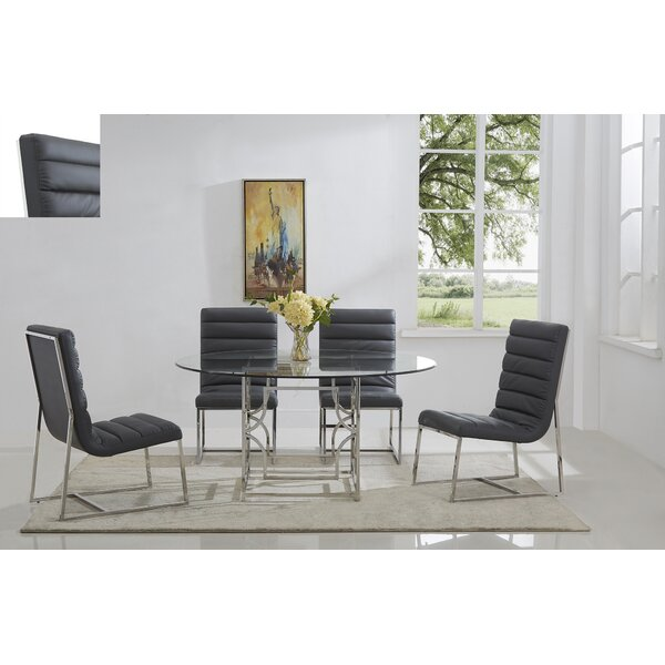 Uday 5 Piece Dining Set by Everly Quinn