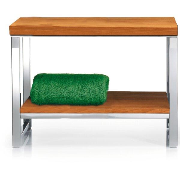 Simmerman Wood Storage Bench by Orren Ellis