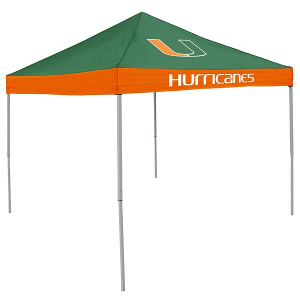 NCAA 9 Ft. W x 9 Ft. D Pop-Up Canopy by Logo Brands