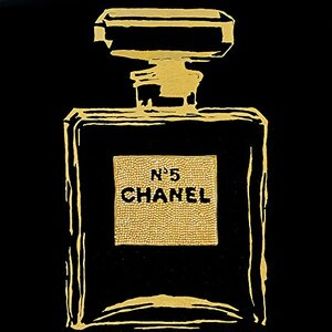 We Agree 'Chanel Black Urban Chic' Graphic Art on Wrapped Canvas by Buy Art For Less