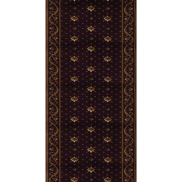 Samalkha Black Area Rug by Meridian Rugmakers