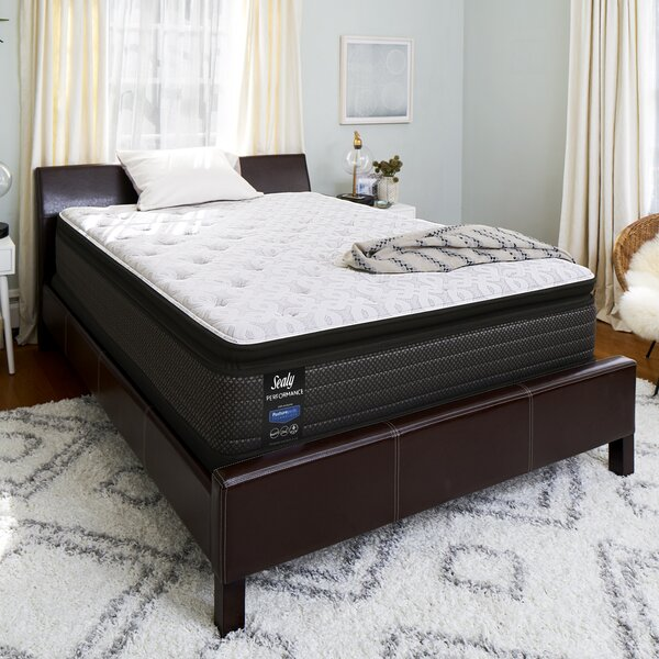 Response™ Performance 13.5 Cushion Firm Pillowtop Mattress and 5 Box Spring by Sealy