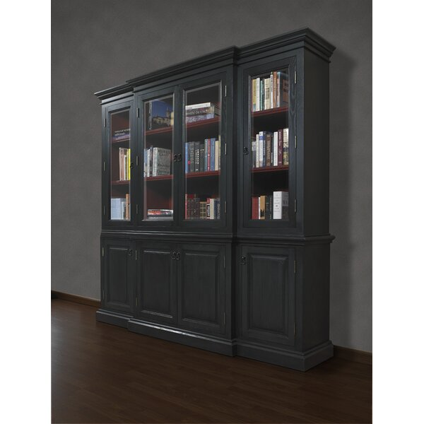French Restoration Chelsea Oversized Set Bookcase by A&E Wood Designs