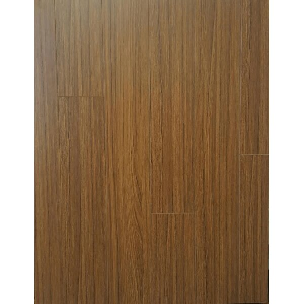 4 x 32 x 8mm Bamboo Laminate Flooring in Tan by Yulf Design & Flooring