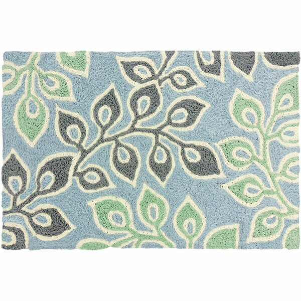Beaumaris Hand-Tufted Green/Gray/Blue Indoor/Outdoor Area Rug by Winston Porter