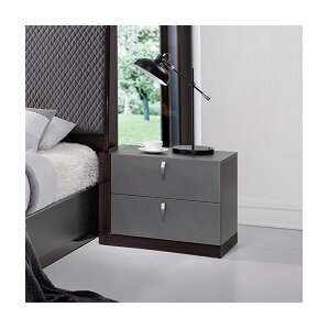 Carmichaels 2 Drawer Nightstand by Wade Logan