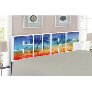Surf Upholstered Panel Headboard by East Urban Home