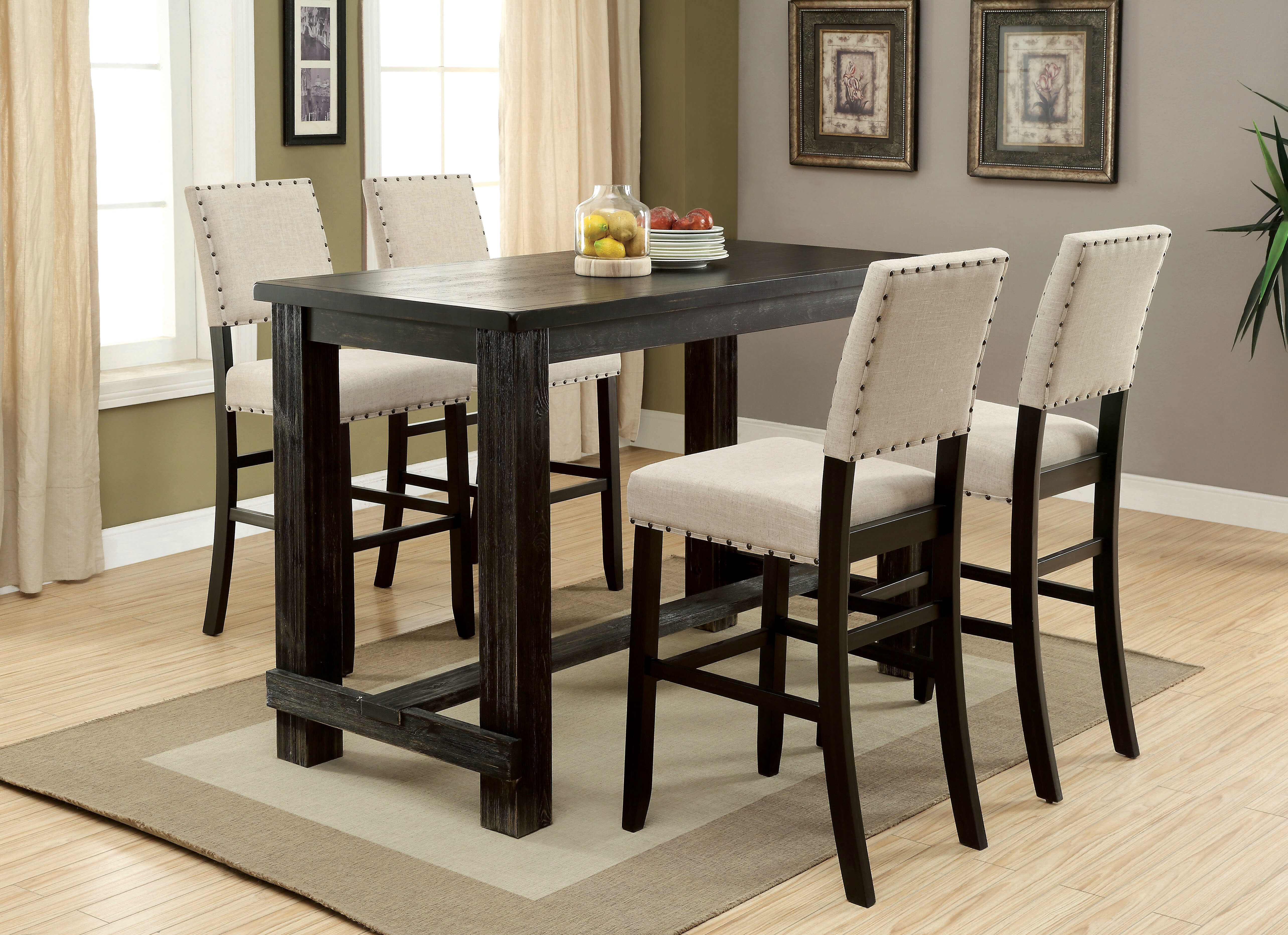 Calila 5 Piece Dining Set