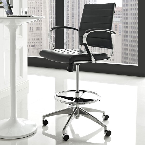 Atalanta Mid-Back Desk Chair by Mercury Row