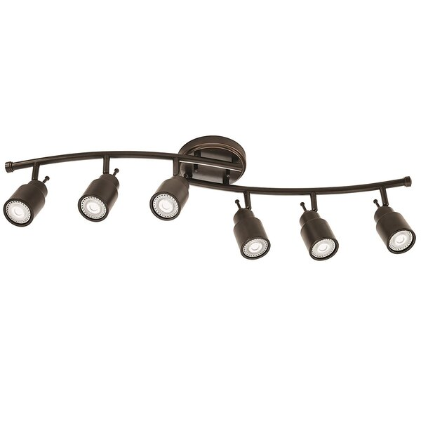 6-Light Fixed Track Kit by Lithonia Lighting