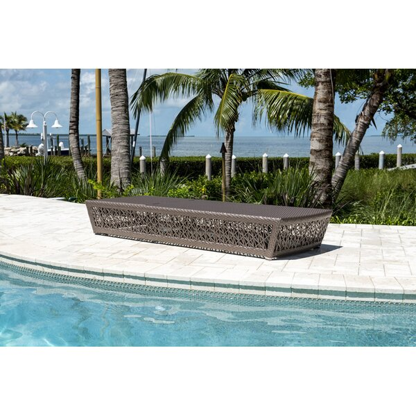 Maldives Reclining Chaise Lounge By Panama Jack Outdoor