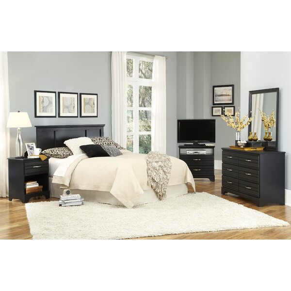 Della Platform Configurable Bedroom Set by August Grove