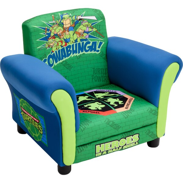 Ninja Turtles Kids Upholstered Club Chair by Delta Children