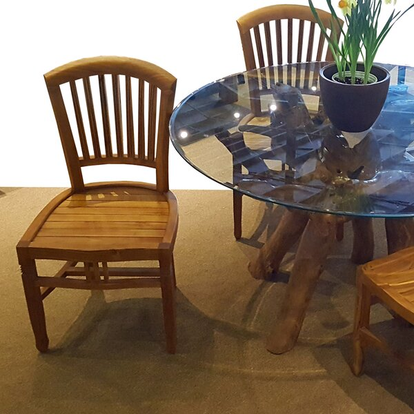 Bauman Teak Patio Dining Side Chair by Darby Home Co Darby Home Co