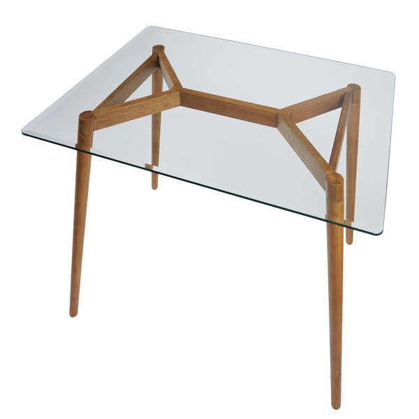 Boler Rectangular Wooden Dining Table by Corrigan Studio