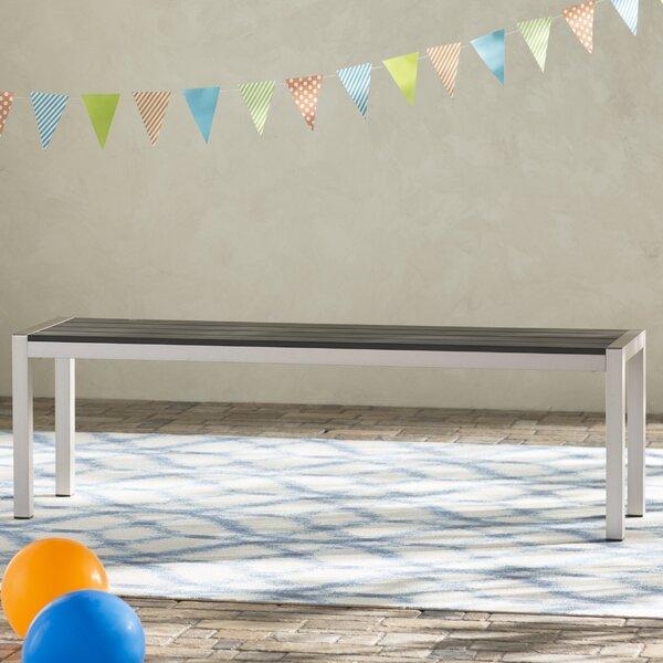 Galicia Aluminum Picnic Bench by Brayden Studio