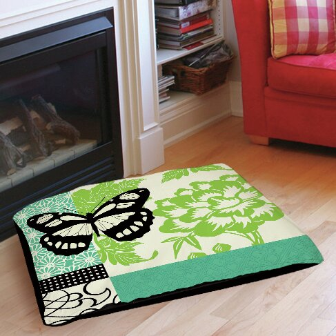 Butterfly Journey 2 Indoor/Outdoor Pet Bed by Manual Woodworkers & Weavers
